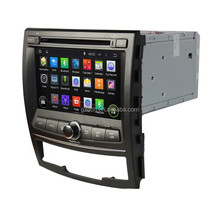 4.4.4 android car radio for SSANGYONG Korando 2010-2013 1024*600 quad core 1G+16G optional WS-9262