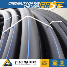 PE100 2 inch polyethylene pipe freeze proof water pipe and drinking water pipe for sale