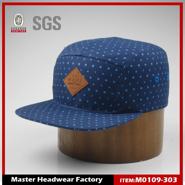 Fat polar fleece brim custom made snapback hats wholesale