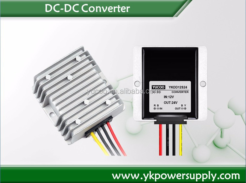 DC DC Boost converter 12V to 24V 8A 192W power converter for cars