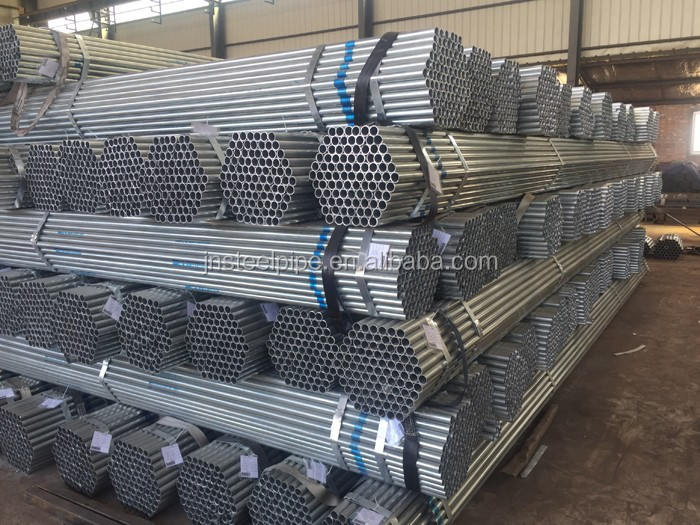 ASTM A53 round erw welded steel pipe bare black erw pipe