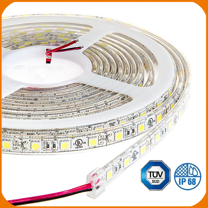 New brand 2017 Factory direct sales led strip rope for Christmas decorating