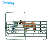 hot dip galvanized corral panels, livestock metal farm fence gate for cattle, house or sheep