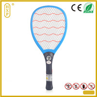 Zhejiang China mosquito swatter manufactory W-888 with led light recharge electric fly catcher