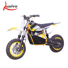 Electric mini cross bike for kids 500w 36v 48v lithium battery electric start dirt bike