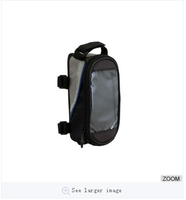 MTB Road Cycling Phone Bag, Touch Compatible Top Tube Mount