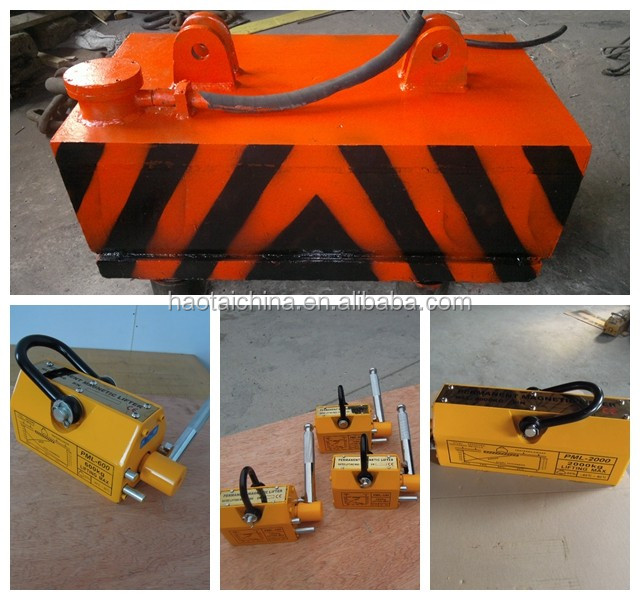 Round Lifting Electromagnet for Excavator