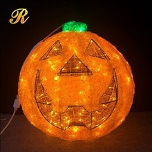 Artificial pumpkins to decorate halloween