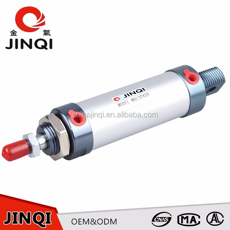 Durability 500mm Shaft pneumatic cylinder double acting price