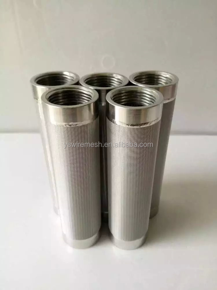 Stainless steel candle filter element indufil filter for Stainless steel elements