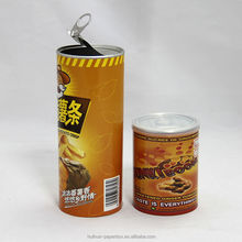 Potato Chips Paper Tubes And Canisters Wholesale Cylinder Paper Food Container