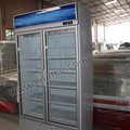 Beverage upright chiller/commercial chiller/glass door chiller