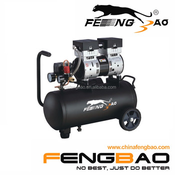 FB750D0-10C24 Fengbao 0.75kw/1hp silent oilfree air compressor for dental supply