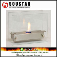 New Indoor Fashion VF-005, SS burner removable ethanol fire place
