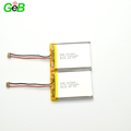 CE approved lithium polymer battery 523460 3.7V 1200mAh lipo battery with high quality