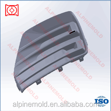 plastic injection mould bumper car parts making with top quality