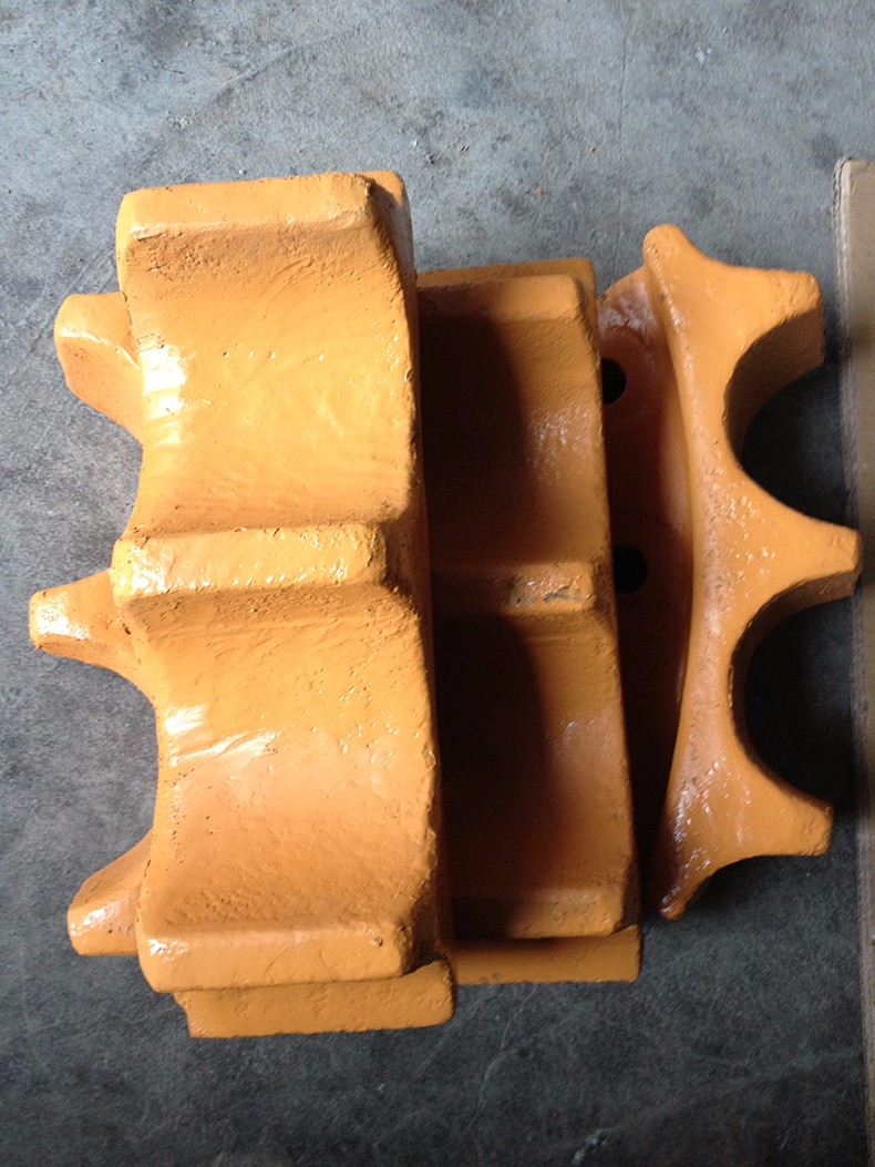 high quality dozer undercarriage products of rear sprocket made in China