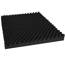 Low price Heat isolation building material/Sound absorbing panel/Acoustic foam