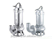 High performance and low cost stainless steel corrosion resistant multi purpose vertical electric power sewage pump