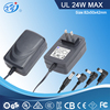 AC adapter 12v 2000ma ac dc power adapter with UL/cUL/CE/GS/BS/SAA/C-Tick/PSE/KC