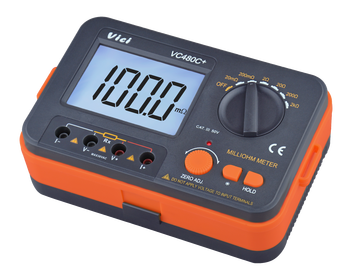 Digital Low Resistance Tester Meter