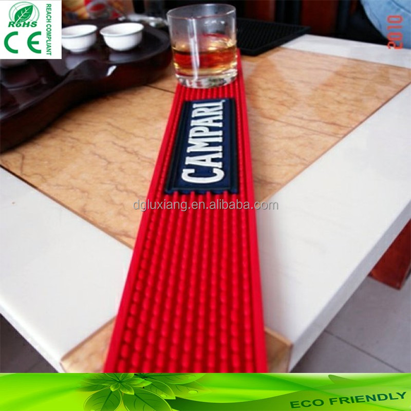 Bar mat Accessories,Anti Slip <strong>Wine</strong> PVC/Silicone Bar Mat,Service Spill Customized Eco- friendly PVC Bar Mat