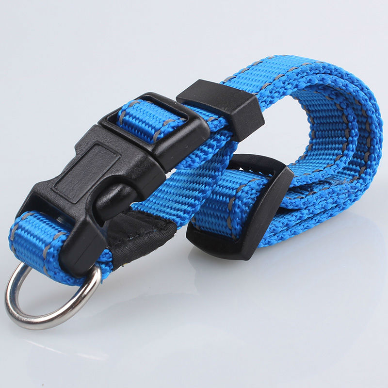 Fashionable New Design Pet Products High Quality Nylon Customized Reflective Dog Collars