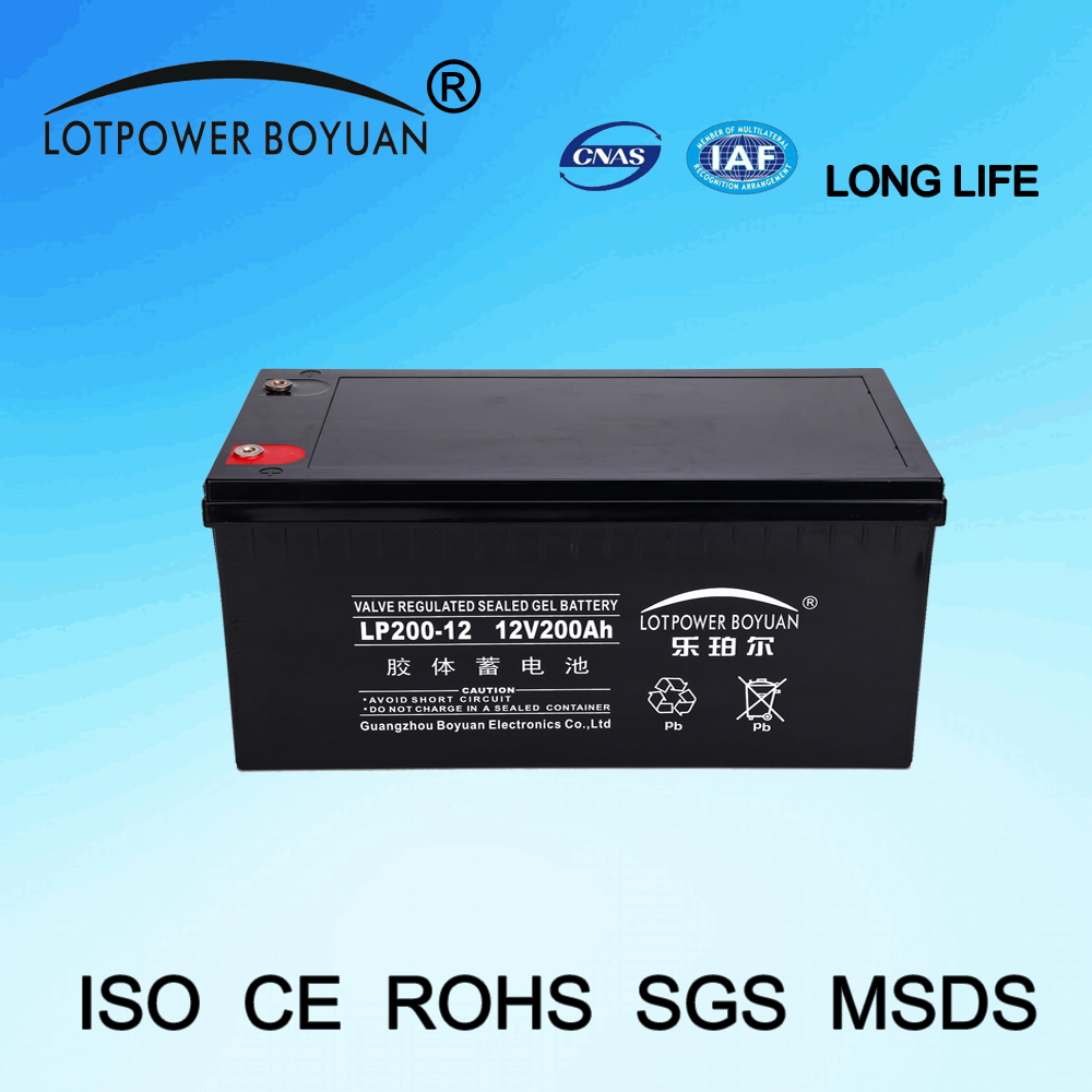 solar energy storage 24v 200ah GUANGZHOU 6 volt rechargeable portable solar light battery price inverter batteries