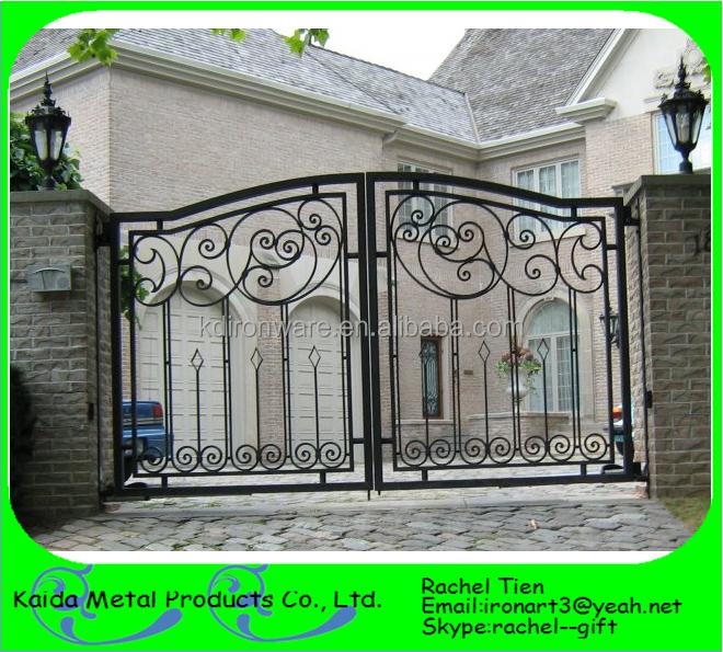 Used Iron Door Grill Designs Interior Wrought Iron Door: Security Used Wrought Iron Gate Designs Main Entrance Door