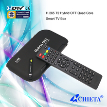 Amlogic805 Android DVB-T2 Digital Video Broadcasting OTT Smart TV Box