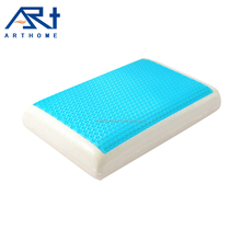 Traditional cool gel memory foam sleeping pillows
