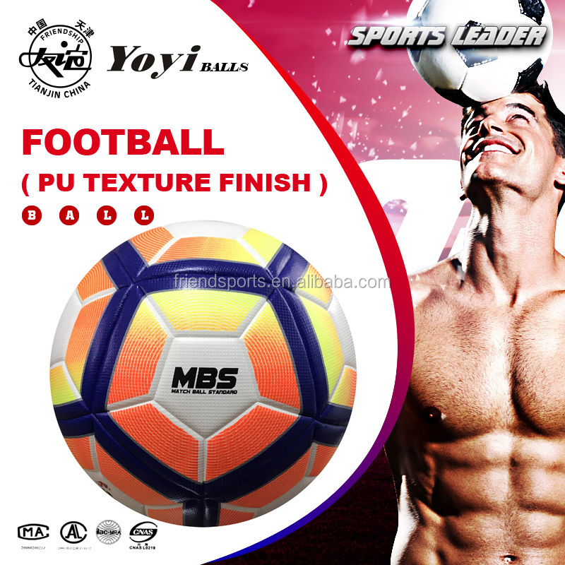 New type, edge curl,thermal bonded, laminated football