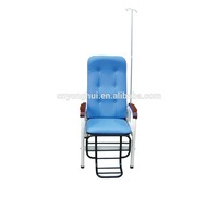 China Made high back infusion chair metal square