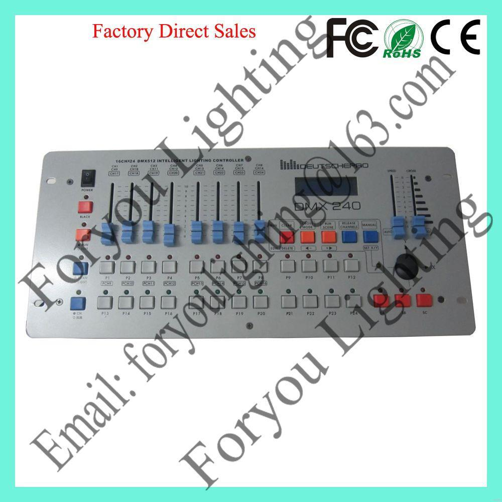Cheap hot sell 240 dmx disco controller