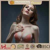 invisible self-adhesive silicone bra 100% cotton material and all type ladies bras bra enhancement