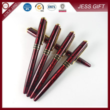 2015 Bulk Fancy Red Metal Gel Ink Roller Pen