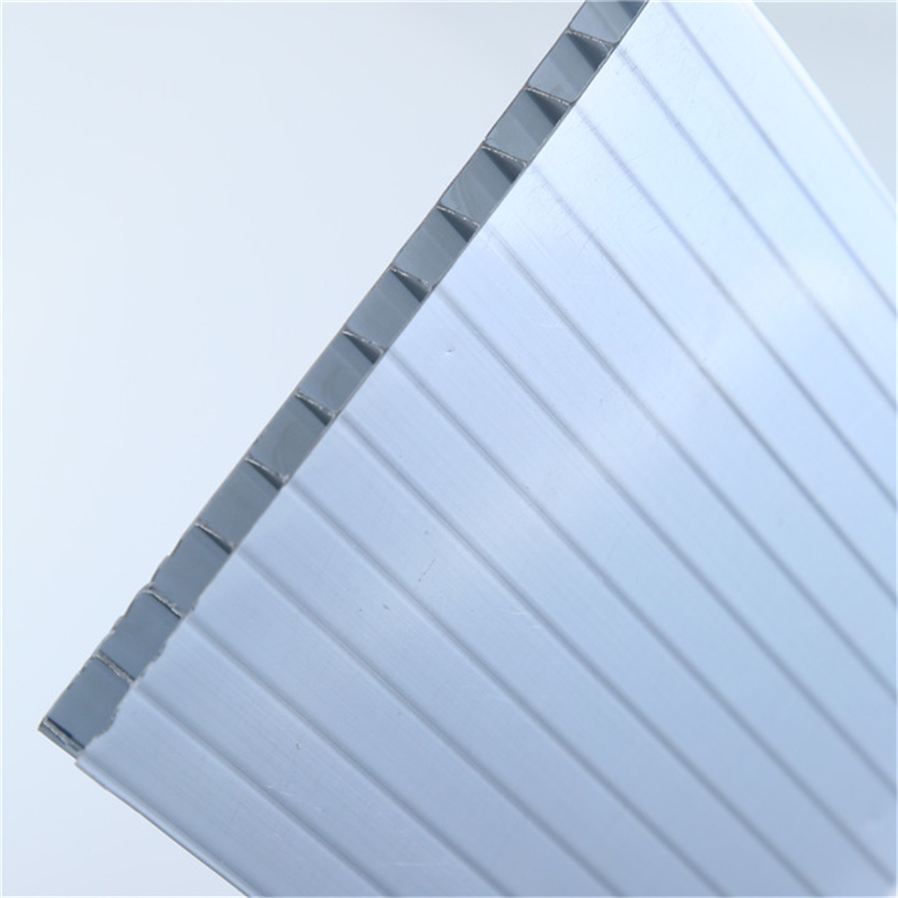 plastic twin wall fluted sheet / board