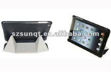 Newest! Hot Pressing Leather Case for tablet with stand