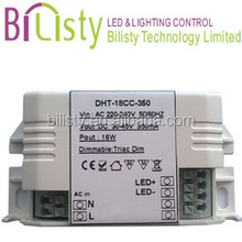 12v triac dimmable led driver compatible with leading&trailing edge dimmer