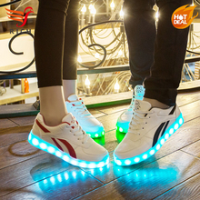 HFR-HFS1742 Famous sports shoes with light low price led shoes sneakers manufacturers
