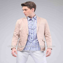 New Fashion Casual Man Office Jackets Blazers