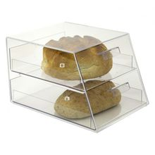 beautiful two drawer clear acrylic cupcake display cabinet acrylic pastry display case acrylic donut display case