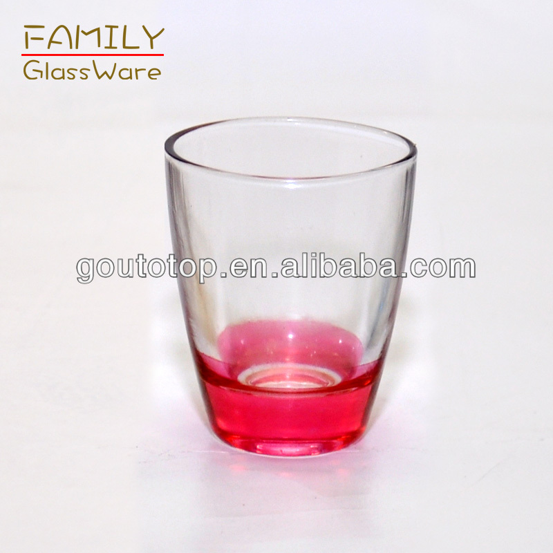 high white machine blow transparent wine glass cups high quality Family brand 30ml
