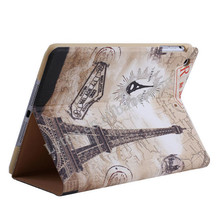 stand cartoon leather cases for apple iPad mini