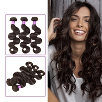 7A Full cuticle double weft indian human Luxury hair can be dyeable and washable human hair extensions