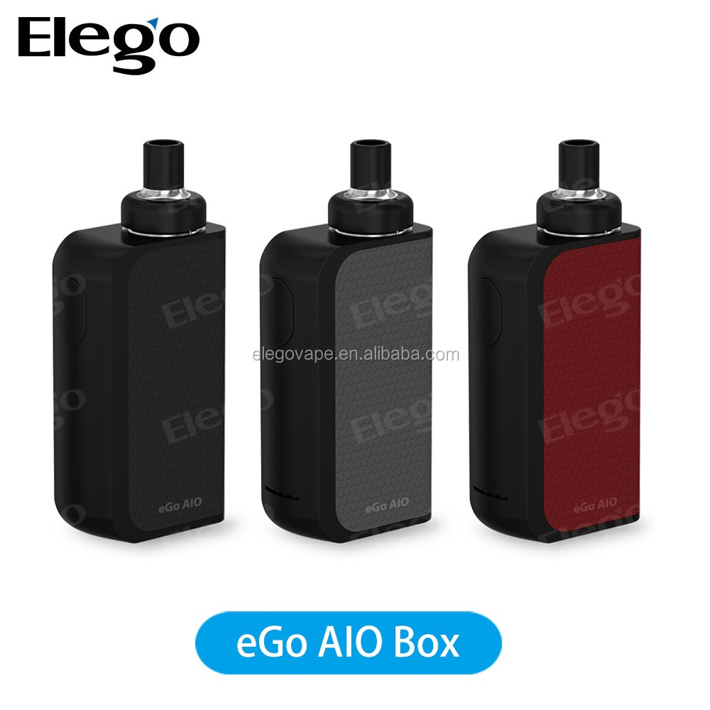 Authentic Joyetech Ego Aio Box Kit e cigarette with 2100mah Vape Mod 2ml Vaporizer All-In-One Kit Electronic Cigarette fit BF SS
