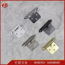 Wooden box small self- closing spring hinge for cabinet door