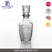 Low Price high quality bulk glass decanter for champagne