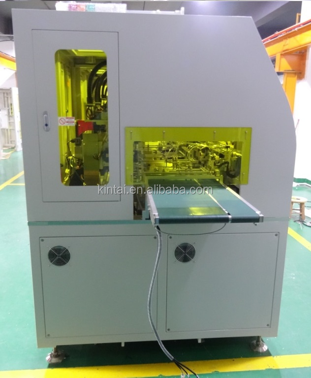 LCD bonding machine for glue dispensing