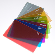 High quality luxury edge full color recycled pvc plastic business card cheap